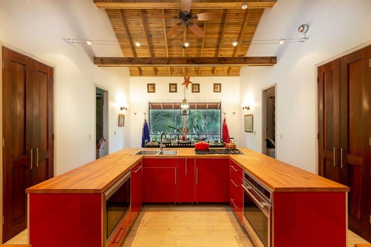 Kitchen facing south