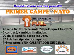 Lanzamiento Campeonato FutbolFull