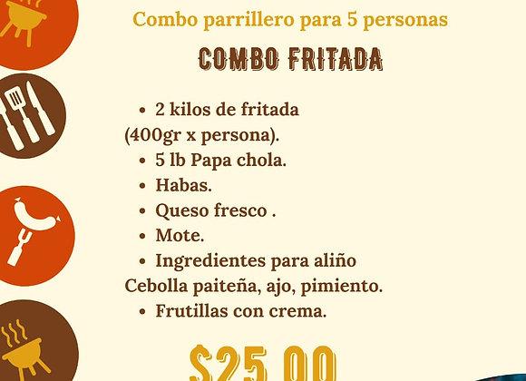 "Combo Parrillero ""Fritada"" / 5 personas"