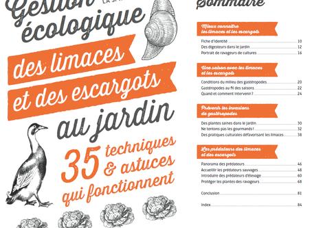 Livre sur la gestion écologique des limaces