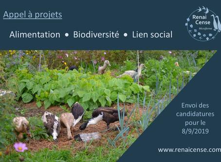 Appel à projets : Alimentation, biodiversité et lien social