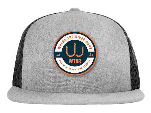 WTRR Hat - Flat Bill w/ WTRR Seal Patch
