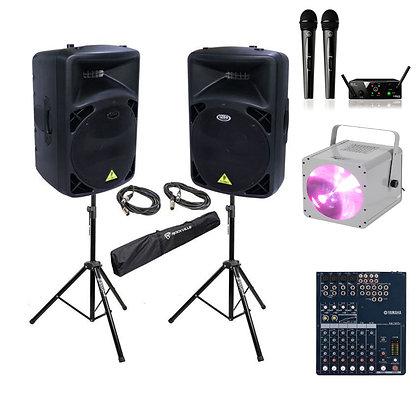 Комплект звука и света  до 60 человек