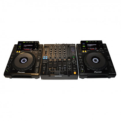 2 Pioneer CDJ900 + DJM800