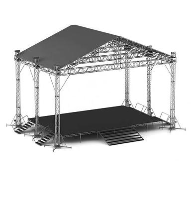 Сцена с крышей 4x6
