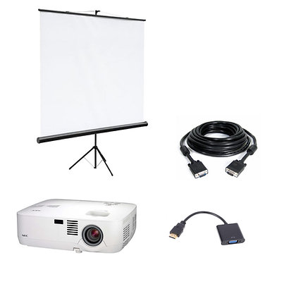 Комплект проектор + экран