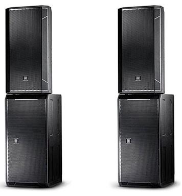 2 Акустическая система JBL STX825 + 2 Сабвуфер JBL STX828S