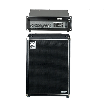 Басовый усилитель Ampeg SVT-3 pro + басовый кабинет Ampeg 410
