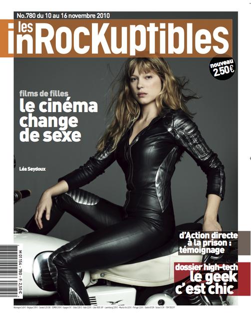 Lea Seydoux - Les Inrocks- Storny Misericordia