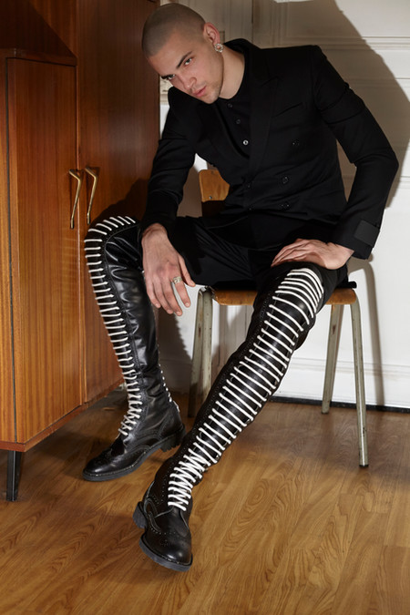 Givenchy - Nicolas Wagner - Crush fanzine- Storny misericordia