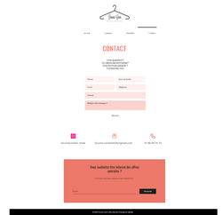 Site relooking Dounia Garni