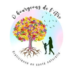 Logo praticienne santé naturelle. Collab Laugo_designer