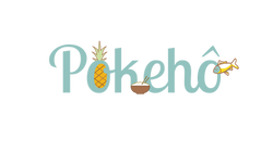 Proposition logo marque pokebowl 3. Collab Laugo_designer