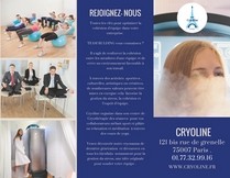 Brochure CE Cryoline Paris