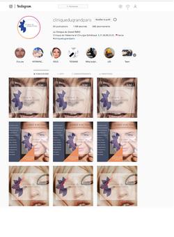 Instagram Clinique du Grand Paris