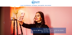 Site Agence d'influenceurs - Elytis Agency