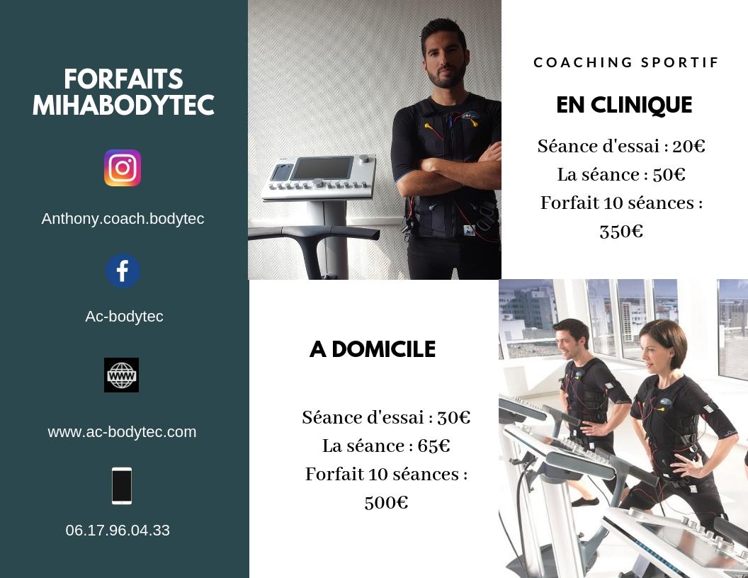 Flyer pour AC Bodytec