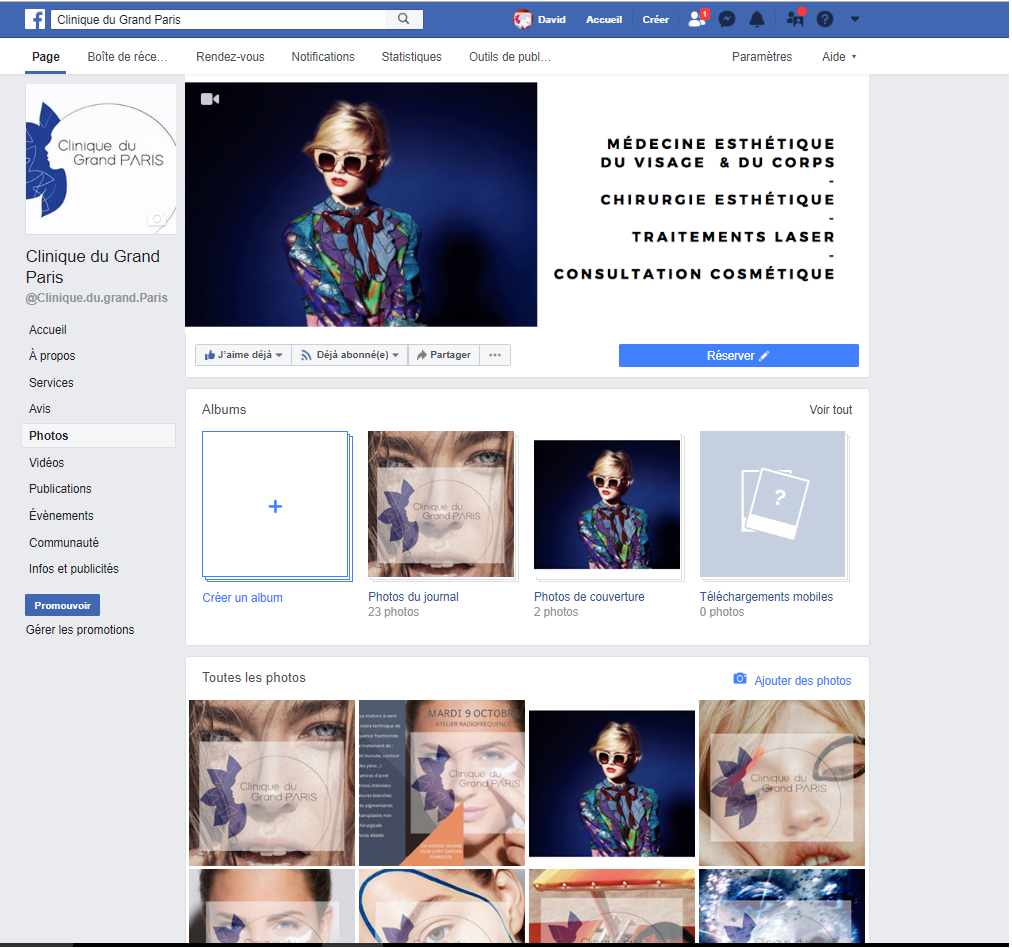 Facebook Clinique du Grand Paris