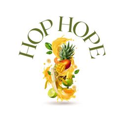 Logo marque de compote de mangue proposition 2