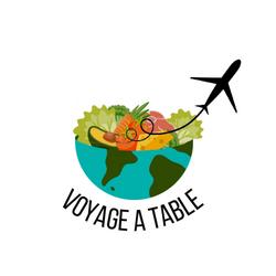 Conception de logo pour client service de plats internationaux de chefs à emporter proposition 2