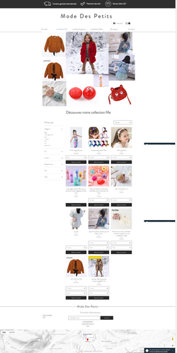 E-shop Enfants- Mode Des Petits