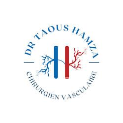 Logo Chirurgien vasculaire. Collab Laugo_designer