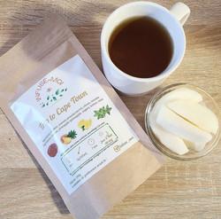 Logo packaging marque de thé
