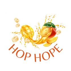 Logo marque de compote de mangue proposition 1