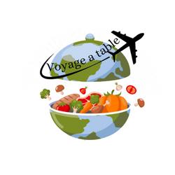 Conception de logo pour client service de plats internationaux de chefs à emporter proposition 1