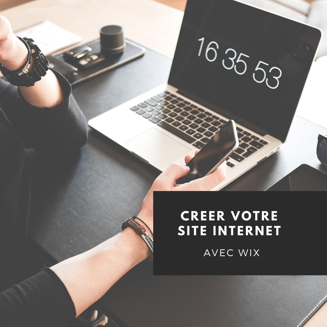 Créer votre site internet avec Wix
