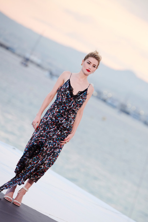 Amber Heard L'oreal Cannes- Storny Misericordia