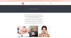 Site Hanane beauty - Soins de beauté