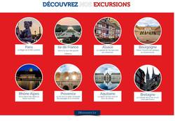Site réservations d'excursions