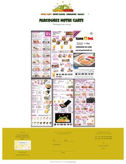 Site Dragon Bowl Sushi - Restaurant asiatique à emporter
