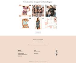 Site Soy'Hanna Lingerie - Eshop lingerie femme