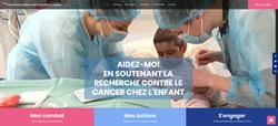 Site association Espoir Joana contre le cancer