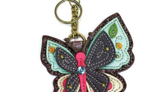New Butterfly - Key Fob / Coin Purse