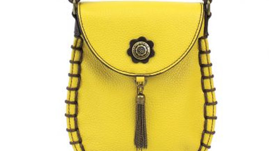 Charming Cell Phone Bag - Yellow