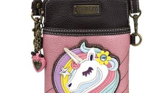 Unicorn Pink Glitter  Cellphone Purse