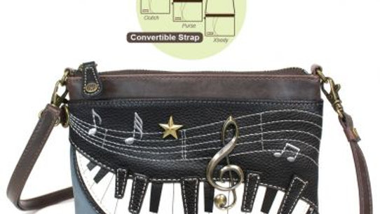 PIANO - MINI CROSSBODY -INDIGO