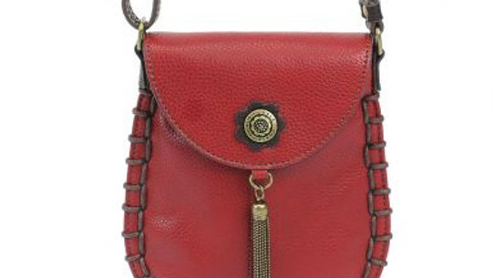 Charming Cell Phone Bag - Burgundy