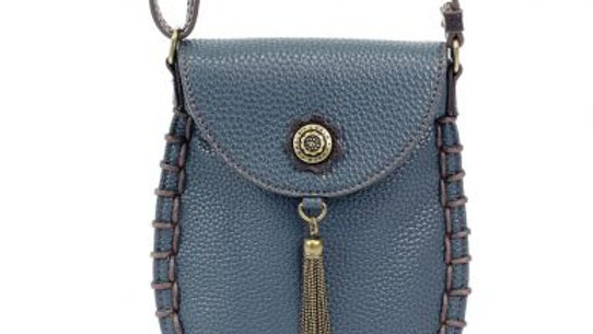 Charming Cell Phone Bag - Navy