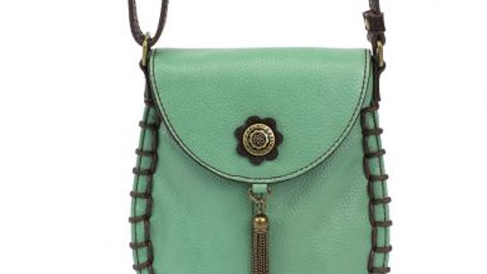 Charming Cell Phone Bag - Teal