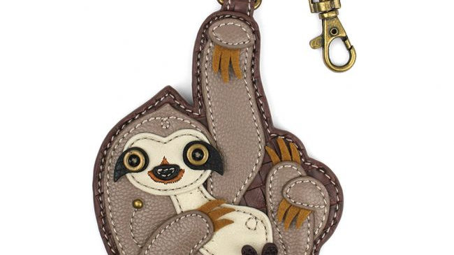 Sloth - Key Fob / Coin Purse