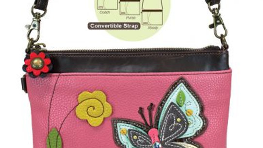 NEW BUTTERFLY - MINI CROSSBODY - PINK
