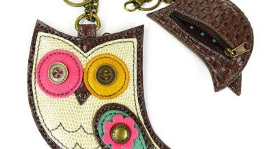 New Hoohoo Owl - Key Fob/Coin Purse