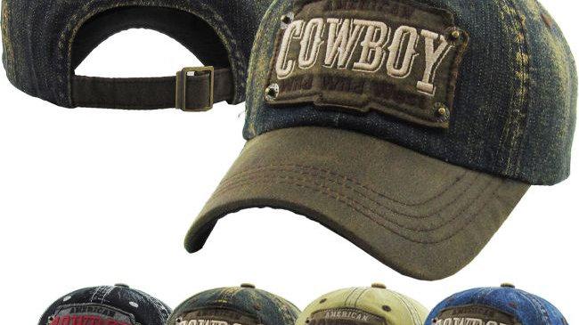 Cowboy Vintage Ballcap