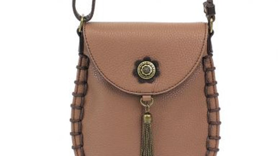 Charming Cell Phone Bag - Brown