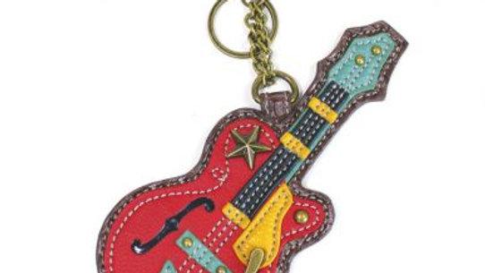 Guitar - Key Fob / Coin Purse
