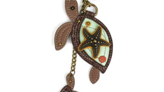 Two Turtles - Key Fob